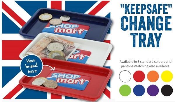 Keep Safe Change Tray