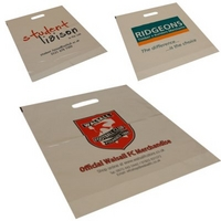 Large Size White or Clear Carrier Bags 16x20x3 Price per 1000
